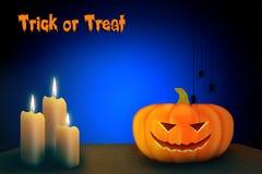 Halloween-Schablonendesign mit Raum für Text Lizenzfreies Stockfoto