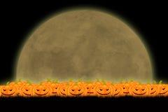 Halloween-Schablonendesign mit Raum für Text oder Mitteilung lizenzfreie stockbilder