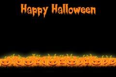 Halloween-Schablonendesign mit Raum für Text oder Mitteilung stockfoto