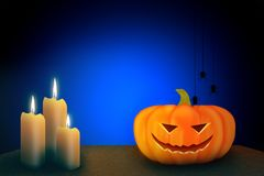 Halloween-Schablonendesign mit Raum für Text oder Mitteilung lizenzfreie stockfotografie