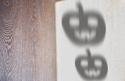 Halloween-schaduwen Stock Afbeelding