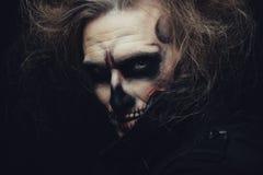 Halloween-schedel Stock Foto