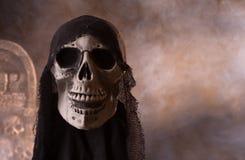 Halloween-schedel Royalty-vrije Stock Foto