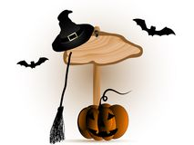 Halloween-Schild Lizenzfreies Stockfoto