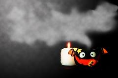 Halloween-Schwarzes stockbild