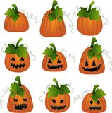 Halloween scrapbook design elements Stock Photo