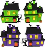Halloween scrapbook design elements Stock Image