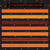 Halloween scrapbook tape-1 Stock Image