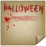 Halloween scratched background Stock Photos