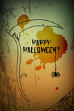 Halloween scythe Royalty Free Stock Photo