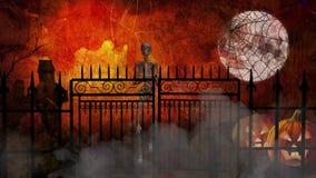 Halloween se encabrita ilustración del vector
