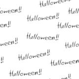 Halloween seamless Royalty Free Stock Images