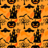 Halloween seamless Royalty Free Stock Photos