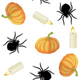 Halloween seamless Stock Images