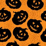 Halloween seamless background 1. Vector illustration Royalty Free Stock Photography