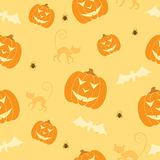 Halloween seamless background Stock Photos