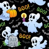 Halloween seamless background 4 Royalty Free Stock Images