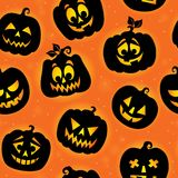 Halloween seamless background 7 Stock Photography