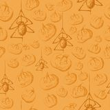 Halloween seamless background Stock Photography