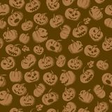 Halloween seamless background Royalty Free Stock Photo