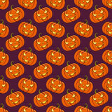 Halloween seamless background. Vector pattern. Stock Image