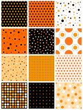 Halloween seamless pattern Stock Photo