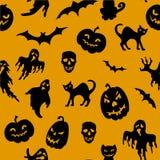 Halloween seamless pattern Stock Images