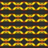 Halloween Seamless Pattern Background Stock Photos