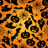 Halloween seamless pattern background Royalty Free Stock Image
