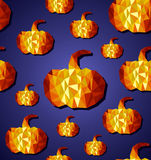 Halloween seamless pattern background. EPS10 file. Royalty Free Stock Photos