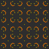 Halloween Seamless Pattern Background Stock Photo