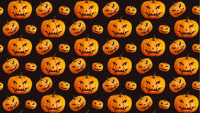 Halloween seamless pattern background Royalty Free Stock Photo
