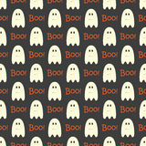 Halloween  seamless pattern background. Stock Image