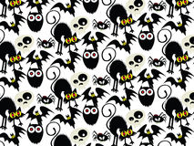 Halloween Seamless Pattern Background : Vector Illustration. Royalty Free Stock Photography