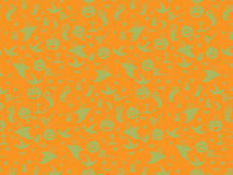 Halloween Seamless Pattern Background : Vector Illustration. Royalty Free Stock Image