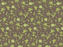 Halloween Seamless Pattern Background : Vector Illustration. Stock Image
