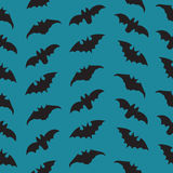 Halloween Seamless pattern with bats. Royalty Free Stock Photography
