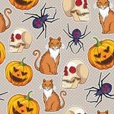 Halloween  seamless pattern design. Stock Photography