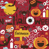Halloween seamless pattern Royalty Free Stock Images