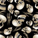 Halloween seamless pattern3 Royalty Free Stock Photo