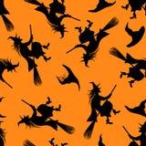 Halloween Seamless Pattern Stock Photos