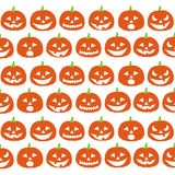 Halloween seamless pattern with pumpkins Royalty Free Stock Photo