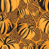 Halloween seamless pattern Royalty Free Stock Photo