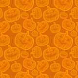 Halloween seamless pattern Stock Photos