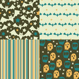 Halloween seamless pattern Royalty Free Stock Image