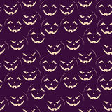 Halloween seamless patterns Stock Images