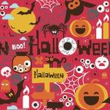 Halloween seamless print Stock Photography
