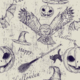 Halloween seamless texture Royalty Free Stock Photography