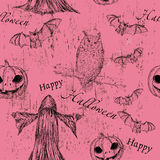 Halloween seamless texture Royalty Free Stock Photos