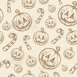 Halloween seamless texture Stock Photos